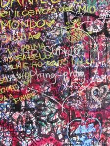 Graffiti - Verona, Italy House of Juliet
