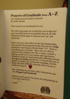 Prayers of Gratitude Introduction