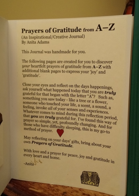 Prayers of Gratitude Introduction